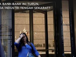 Laba Bank-bank Global Ini Ambles, 'Lampu Kuning' Perbankan?