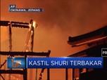 Peninggalan Sejarah Jepang Kastil Shuri Terbakar
