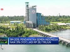 Laba Bersih Semen Indonesia Anjlok 38% (YoY)