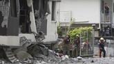 Pada Selasa lalu, gempa berkekuatan magnitudo 6,6 juga mengguncang wilayah Cotabato dan sekitarnya.(Photo by Manman Dejeto / AFP)