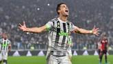 Cristiano Ronaldo sudah mencetak lima gol dari delapan pertandingan Liga Italia bersama Juventus musim ini. (Alessandro Di Marco/ANSA via AP)