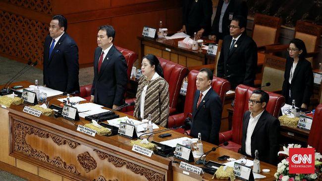 214 Anggota DPR Absen Paripurna Pengesahan Kapolri Idham Azis