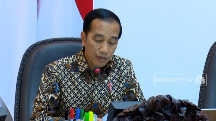 Jokowi Rombak Konsep Daftar Negatif Jadi Positif Investasi