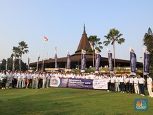 Mengintip Keseruan CNBC Indonesia Golf Tournament 2019