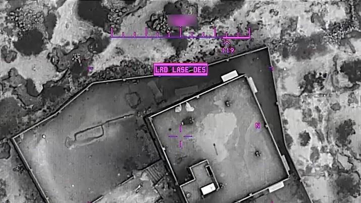 AS Rilis Foto Serangan yang Tewaskan Bos ISIS Al-Baghdadi