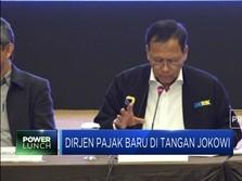Bos Pajak Pilihan Jokowi-Sri Mulyani Dilantik