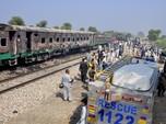 71 Orang Tewas di Kereta Maut Gegara Ledakan Tabung Gas