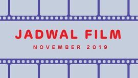 INFOGRAFIS: Jadwal Film November 2019