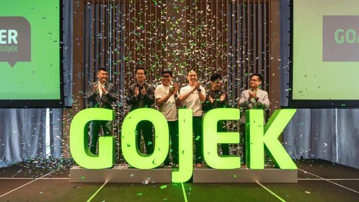 kerjasama antara Gojek dan LinkAja dalam pembayaran GoTix  (Dok. Gojek)