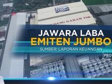 Jawara Laba Emiten Jumbo
