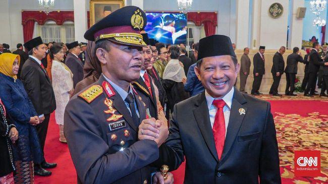 Pesan Tito ke Idham Azis: Jadi Kapolri Tidak Gampang