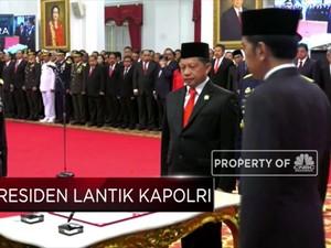 Presiden Jokowi Lantik Idham Azis Jadi Kapolri