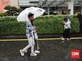 FOTO: Hujan Deras Guyur Jakarta