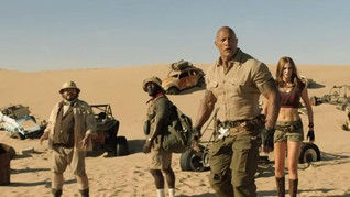 Aksi Heboh di Trailer Final 'Jumanji: The Next Level'