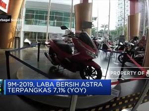 Laba Bersih Astra International Terpangkas 7,1%