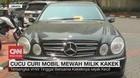 VIDEO: Cucu Curi Mobil Mewah Milik Kakek