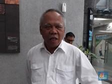 Basuki Tunggu Anies Bebaskan Lahan Proyek Sudetan Ciliwung