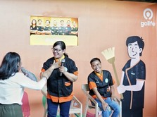 GoLife Permudah Mitra Paruh Baya Ini Cari Nafkah di Makassar