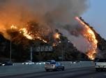 Kebakaran Hebat Bikin Ratusan Ribu Orang Hidup Tanpa Listrik