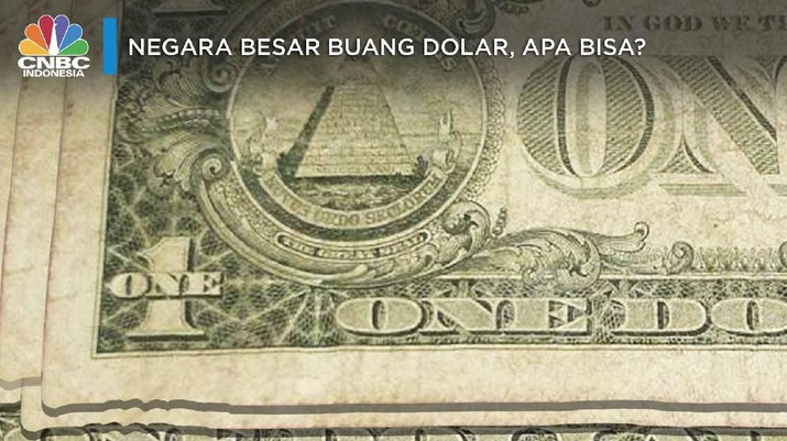 Berbagai negara besar di dunia mulai dari Rusia, China, hingga Iran telah mencoba 'membuang' dolar alias melakukan de-dolarisasi.
