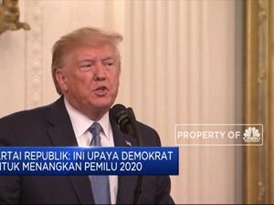 Mayoritas DPR AS Setujui Penyelidikan Pemakzulan Trump