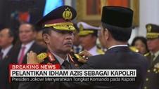 VIDEO: Pelantikan Idham Azis Sebagai Kapolri