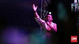 'Cendol Dawet' Didi Kempot Hibur Mega-Jokowi di Rakernas PDIP