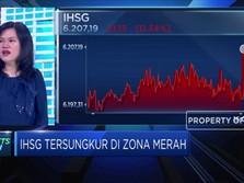 Tutup Akhir Pekan, IHSG Terperosok di Zona Merah