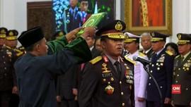 VIDEO: Jokowi Resmi Lantik Idham Azis Jadi Kapolri