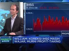 Profit Taking, IHSG Kembali Memerah