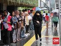 Hujan Mulai Turun Merata, Pintu Air Jakarta Terpantau Aman