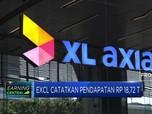 EXCL Catatkan Pendapatan Rp 18,72 T