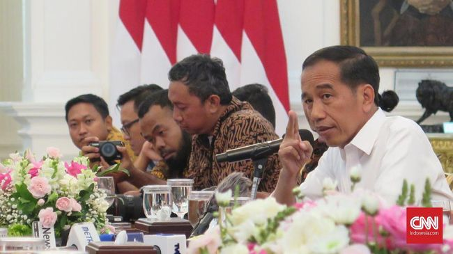 Jokowi Sindir Direksi Bank Agar Sentuh Pelosok Hingga Papua