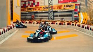 Pacu Adrenalin di Formula Kart Trans Studio Cibubur