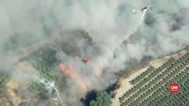 VIDEO: Kebakaran California Capai 9.000 Hektare