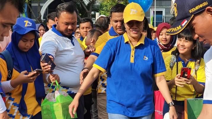 Family Gathering HORI 73, Menteri Keuangan Sri Mulyani menyerukan bahwa Hari Oeang ke-73 membawa semangat