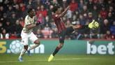 Manchester United kalah 0-1 dari Bournemouth di Stadion The Vitality, Bournemouth, Sabtu (2/11). (Mark Kerton/PA via AP)
