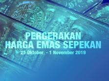 Pergerakan Harga Emas di Pekan Terakhir Oktober 2019