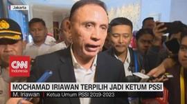 VIDEO: Mochamad Iriawan Terpilih Jadi Ketum PSSI