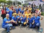 Intip Sri Mulyani & Keluarga Kemenkeu Rayakan Hari Oeang