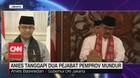 VIDEO: Gubernur Anies Tanggapi 2 Pejabat Pemprov Mundur
