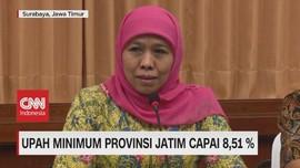 VIDEO: Upah Minimum Provinsi Jatim Capai 8,51%