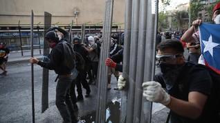 Gempa Mengguncang Saat Aksi Demonstrasi di Chile