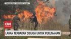 VIDEO: Lahan Terbakar Diduga Untuk Bangun Perumahan