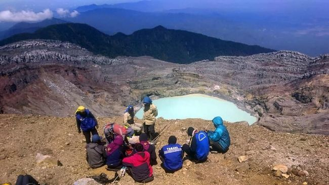 Dua Pendaki Meninggal di Gunung Dempo