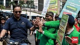 Anies Akui Jalur Sepeda Jakarta Belum Jadi Kelas Utama