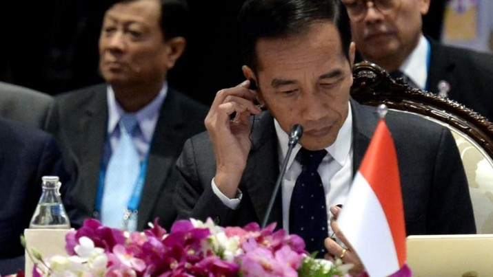 Rakhine State menjadi isu yang disampaikan Presiden Joko Widodo saat mengahadiri sesi Pleno KTT ke-35 ASEAN.