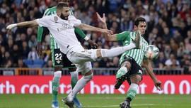 Ditahan Imbang Betis, Madrid Gagal Geser Barcelona