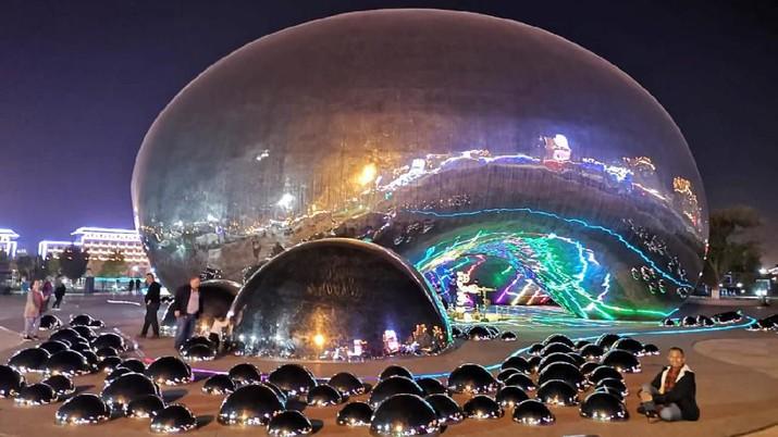 Mengintip Kota Modern di Tengah Gurun Gobi