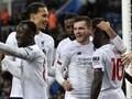 FOTO: Liverpool Menang Dramatis di Liga Inggris